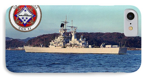 Uss Arkansas IPhone Case