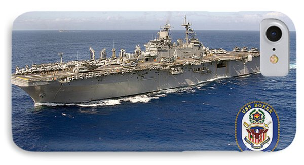 Uss Boxer IPhone Case by Baltzgar