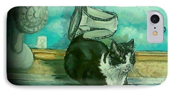 Uss Catboat IPhone Case