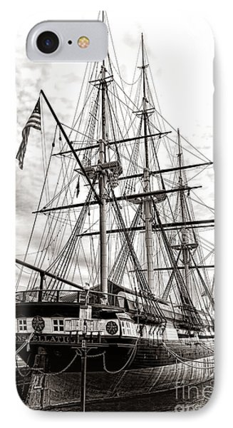 Uss Constellation IPhone Case by Olivier Le Queinec