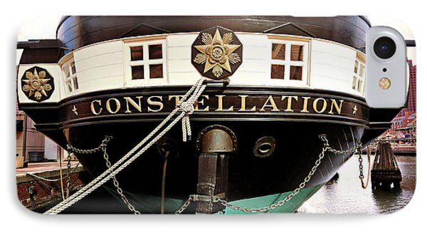 Uss Constellation IPhone Case by Stephen Stookey