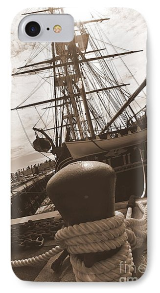 Uss Constitution Phone Case by Catherine Reusch Daley