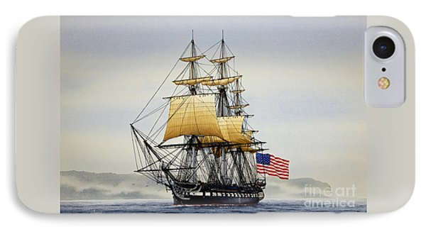 Uss Constitution IPhone Case by James Williamson
