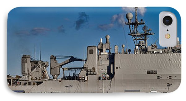 Uss Fort Mchenry IPhone Case by Scott Meyer