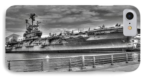 Uss Intrepid IPhone Case by Anthony Sacco