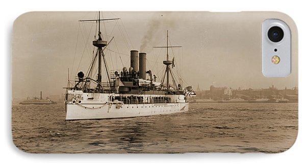 U.s.s. Maine, Hart, Edward H, Maine Battleship IPhone Case by Litz Collection