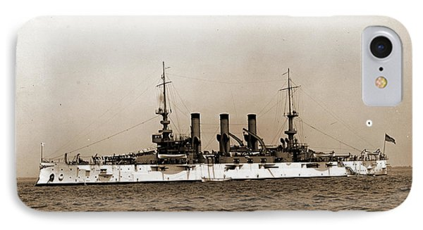 U.s.s. Minnesota, Minnesota Battleship IPhone Case