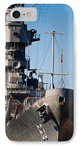 Uss Missouri, Pearl Harbor, Honolulu IPhone Case by Panoramic Images