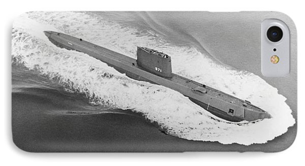 Uss Nautilus Worlds First Atomic Submarine Phone Case by Science Source