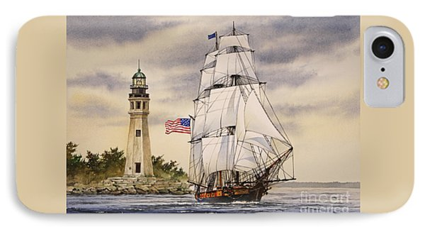 Uss Niagara IPhone Case by James Williamson
