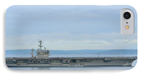 Uss Nimitz IPhone Case