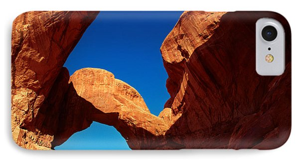Utah - Double Arch IPhone Case by Terry Elniski