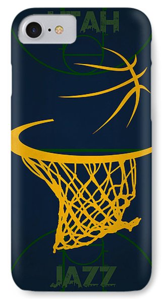 Utah Jazz Court IPhone Case