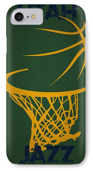 Utah Jazz Hoop IPhone Case