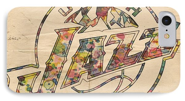 Utah Jazz Poster Art IPhone Case