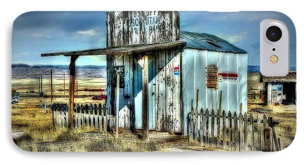 IPhone Case featuring the photograph Utah Post Office by Mary Timman