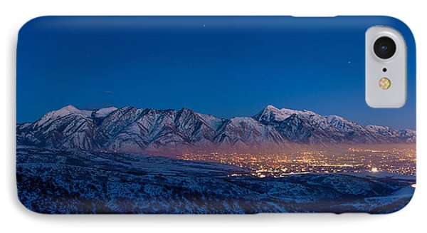 Utah Valley IPhone Case by Chad Dutson