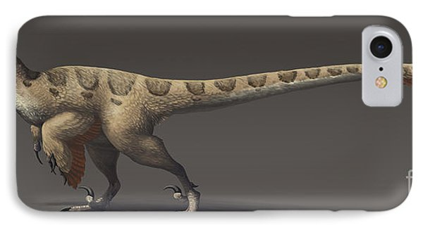 Utahraptor Ostrommaysorum, The Largest IPhone Case by Emily Willoughby