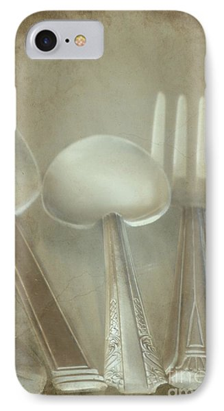 Utensils Phone Case by Sophie Vigneault