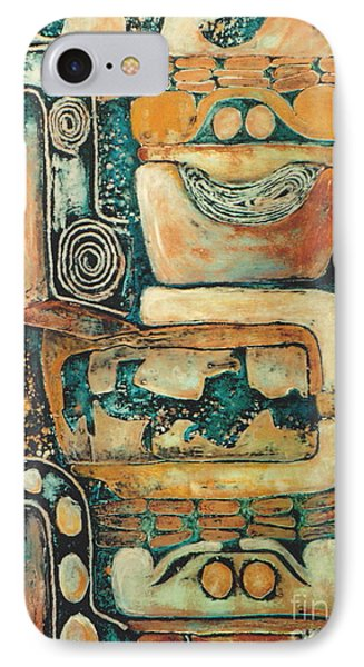 Uxmal        2 0f 6 IPhone Case by Pamela Iris Harden