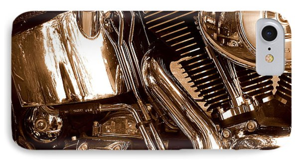 IPhone Case featuring the photograph V Twin  by Karen Kersey