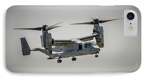 IPhone Case featuring the photograph V22 Osprey by Bradley Clay