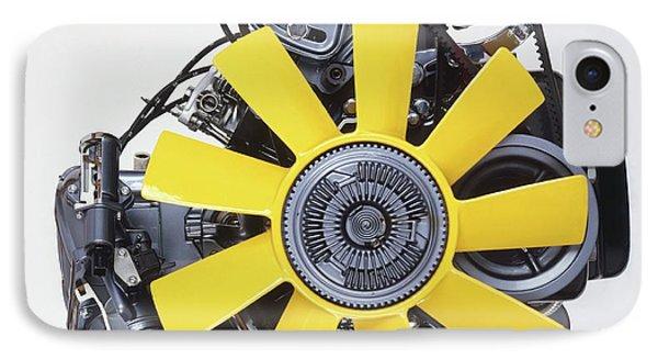 V6 12 Valve Engine IPhone Case by Dorling Kindersley/uig