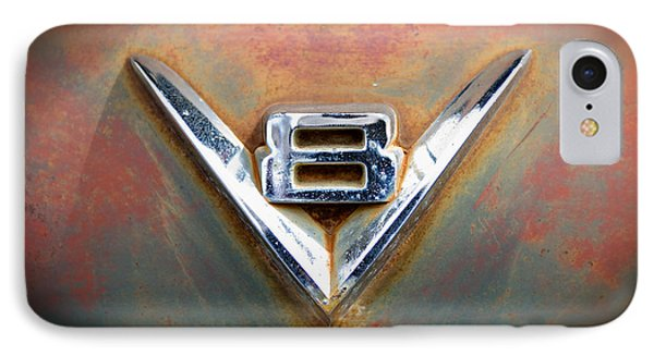 V8 Ford IPhone Case by Bud Simpson