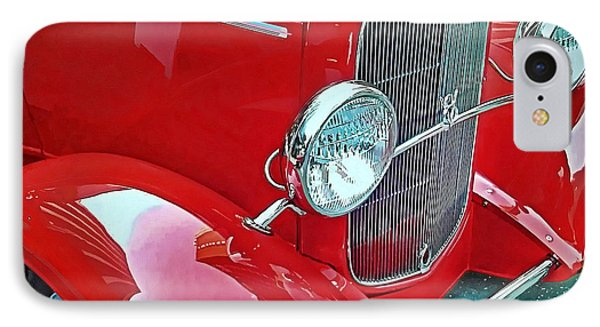 IPhone Case featuring the photograph V8 by Victor Montgomery