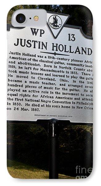 Va-wp13 Justin Holland IPhone Case by Jason O Watson