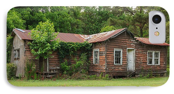 IPhone Case featuring the photograph Vacant Rural Home by Patricia Schaefer