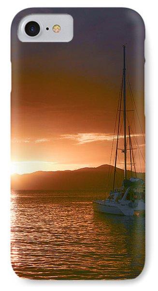 Vacation Sunset Phone Case by    Michael Glenn