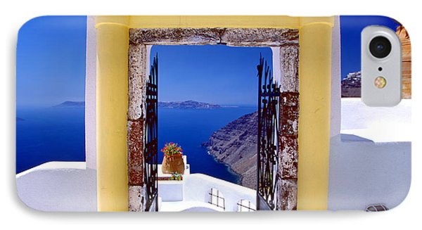 Vacations Gate IPhone Case by Aiolos Greek Collections