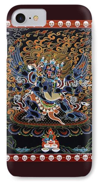 Vajrakilaya Dorje Phurba IPhone Case by Sergey Noskov