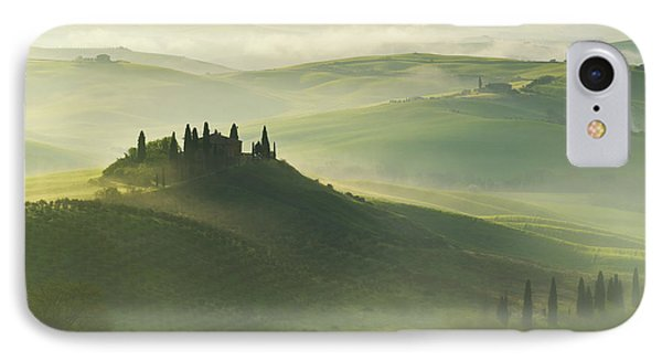 Val D'orcia IPhone Case by Jaroslaw Blaminsky