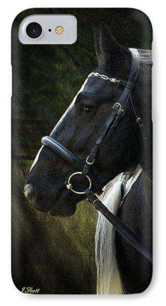 Val Headshot Phone Case by Fran J Scott