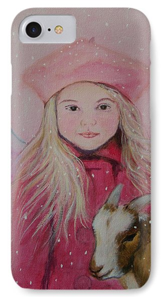 Valentina Little Angel Of Perseverance And Prosperity Phone Case by The Art With A Heart By Charlotte Phillips
