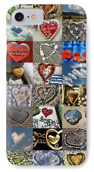 Valentine - Hearts And Memories   Phone Case by Daliana Pacuraru