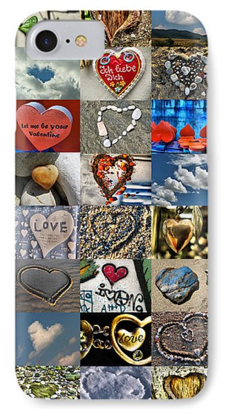 Valentine - Hearts And Memories   IPhone Case