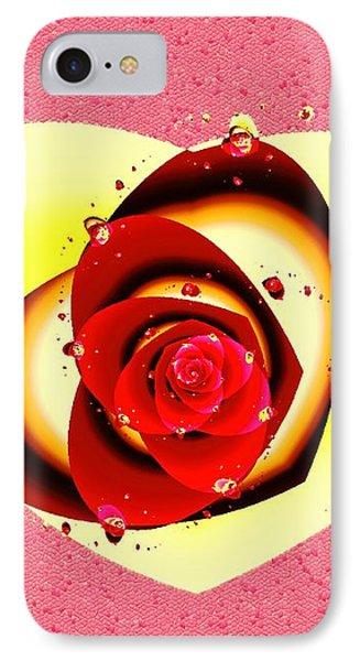 Valentine Rose IPhone Case by Anastasiya Malakhova