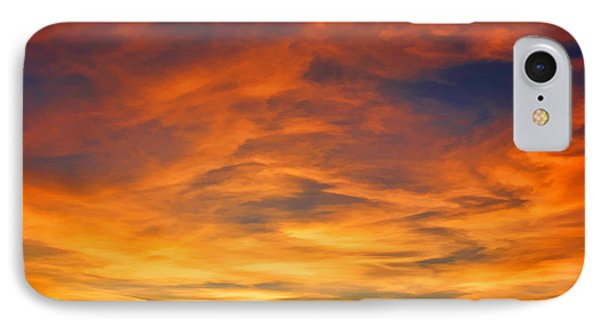 Valentine Sunset Phone Case by Tammy Espino