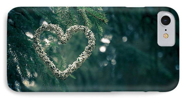 Valentine's Day In Nature IPhone Case by Andreas Levi