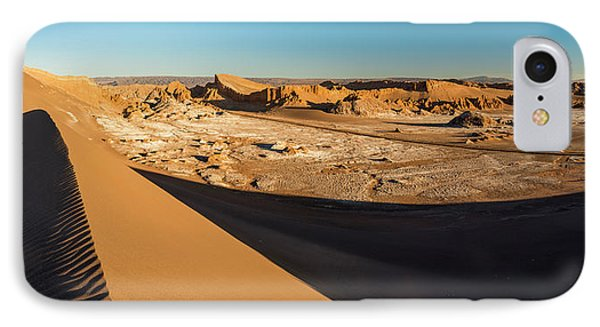 Valle De La Luna From Sans Dunes IPhone Case