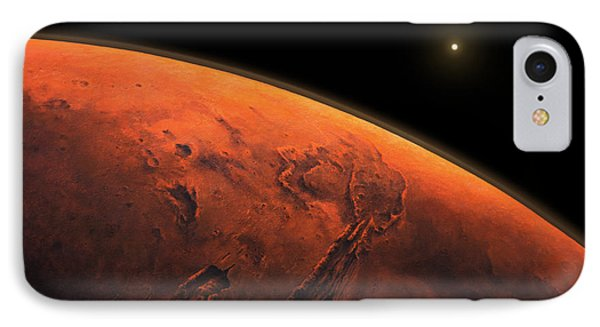Valles Marineris Sunrise IPhone Case