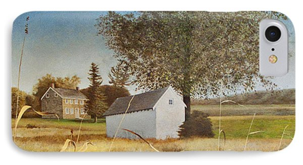 Valley Forge Spring House Phone Case by Randall Graham