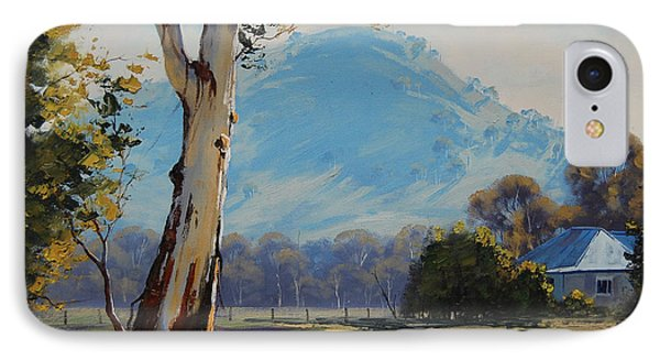 Valley Gum Tree IPhone Case by Graham Gercken