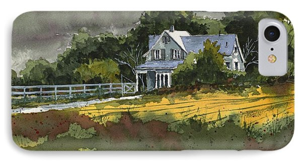 IPhone Case featuring the painting Valley Home by Tim Oliver