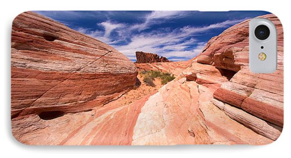 Valley Of Fire 2 IPhone Case by David Beebe