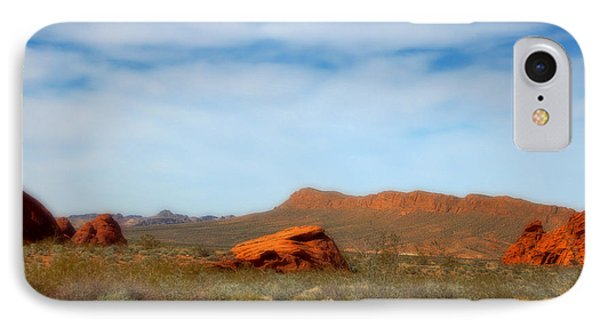 Valley Of Fire Phone Case by Marti Green