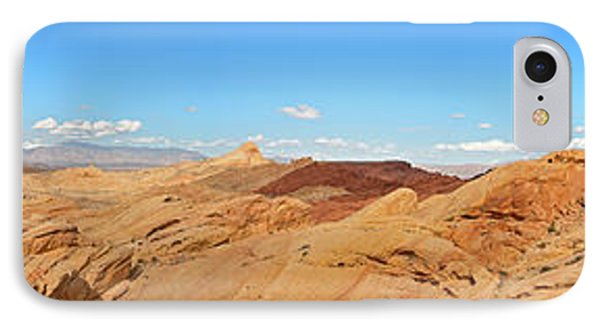 Valley Of Fire Pano Phone Case by Jane Rix